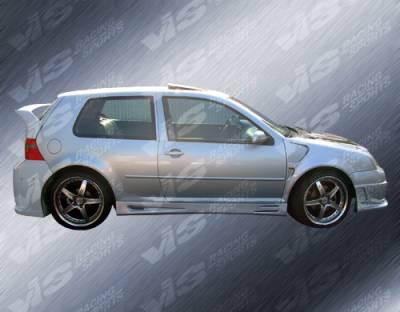 Golf - Side Skirts - VIS Racing - Volkswagen Golf VIS Racing Titan Side Skirts - 99VWGOF2DTT-004