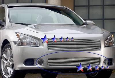 Grilles - Custom Fit Grilles - APS - Nissan Maxima APS Billet Grille - lower - Aluminum - N85225A