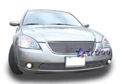 Grilles - Custom Fit Grilles - APS - Nissan Altima APS Billet Grille - Bumper - Aluminum - N85407A