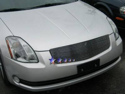 Grilles - Custom Fit Grilles - APS - Nissan Maxima APS Billet Grille - 1PC - Upper - Aluminum - N85408A