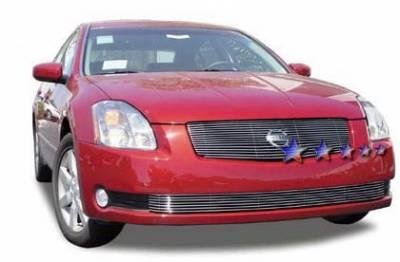 Grilles - Custom Fit Grilles - APS - Nissan Maxima APS Billet Grille - Bumper - Aluminum - N85409A