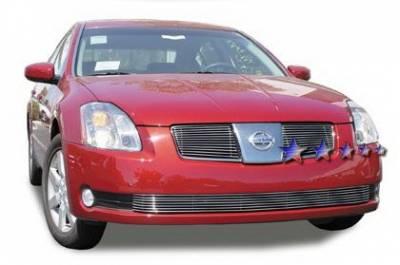 Grilles - Custom Fit Grilles - APS - Nissan Maxima APS Billet Grille - Upper - Aluminum - N85410A