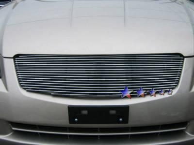 Grilles - Custom Fit Grilles - APS - Nissan Altima APS Billet Grille - Upper - Aluminum - N85411A
