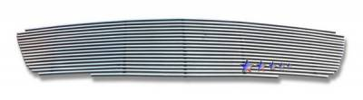 Grilles - Custom Fit Grilles - APS - Nissan Altima APS Billet Grille - Upper - Stainless Steel - N85411S