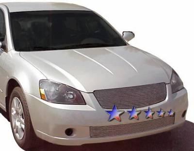 Grilles - Custom Fit Grilles - APS - Nissan Altima APS Billet Grille - Bumper - Aluminum - N85416A