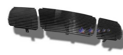 Grilles - Custom Fit Grilles - APS - Nissan Armada APS Billet Grille - Upper - Aluminum - N85422A