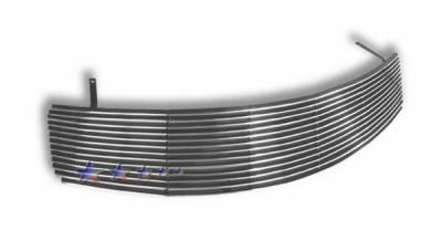 Grilles - Custom Fit Grilles - APS - Infiniti G35 4DR APS Billet Grille - Upper - Aluminum - N85604A
