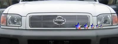 Grilles - Custom Fit Grilles - APS - Nissan Pathfinder APS CNC Grille - Upper - Aluminum - N95363A