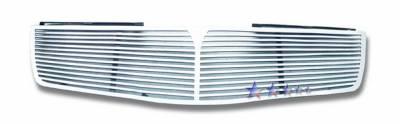 Grilles - Custom Fit Grilles - APS - Nissan Maxima APS CNC Grille - 1PC - Upper - Aluminum - N95408A