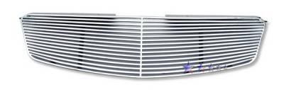 Grilles - Custom Fit Grilles - APS - Nissan Altima APS CNC Grille - Upper - Aluminum - N95411A