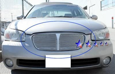 Grilles - Custom Fit Grilles - APS - Nissan Maxima APS CNC Grille - Upper - Aluminum - N95418A