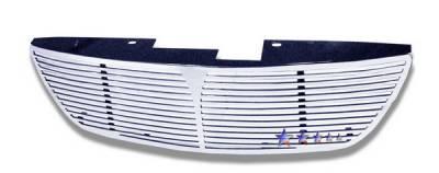 Grilles - Custom Fit Grilles - APS - Nissan Altima APS CNC Grille - Upper - Aluminum - N96594A