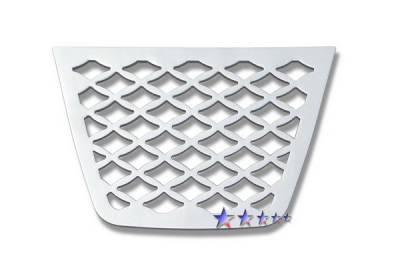 Grilles - Custom Fit Grilles - APS - Nissan Rogue APS CNC Grille - Bumper - Aluminum - N96634A