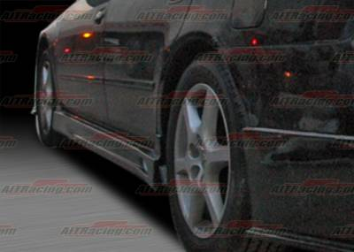 Altima - Side Skirts - AIT Racing - Nissan Altima AIT Racing C-Weapon Style Side Skirts - NA02HICWSSS