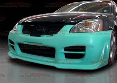 Altima - Front Bumper - AIT Racing - Nissan Altima AIT Racing R34 Style Front Bumper - NA02HIR34FB