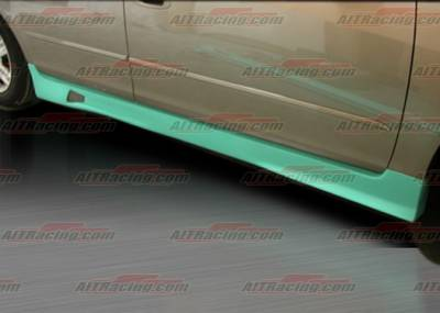 Altima - Side Skirts - AIT Racing - Nissan Altima AIT Racing R34 Style Side Skirts - NA02HIR34SS