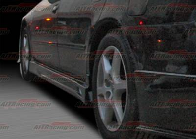 Altima - Side Skirts - AIT Racing - Nissan Altima AIT Racing C-Weapon Style Side Skirts - NA03HICWSSS4