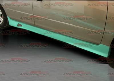 Altima - Side Skirts - AIT Racing - Nissan Altima AIT Racing R34 Style Side Skirts - NA03HIR34SS4