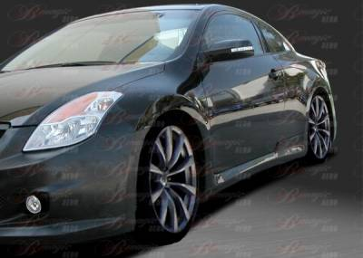 Altima - Side Skirts - AIT Racing - Nissan Altima BMagic IMP Style Side Skirts - NA08BMIMPSS2