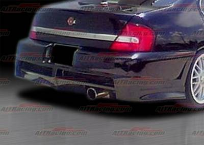 Altima - Rear Bumper - AIT Racing - Nissan Altima AIT Racing Extreme Style Rear Bumper - NA98HIEXSRB