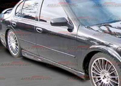Maxima - Side Skirts - AIT Racing - Nissan Maxima AIT Racing R34 Style Side Skirts - NM95HIR34SS