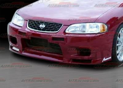 Sentra - Front Bumper - AIT Racing - Nissan Sentra AIT Racing R33 Style Front Bumper - NS00HIR33FB