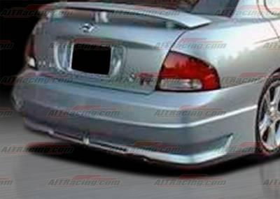 Sentra - Rear Bumper - AIT Racing - Nissan Sentra AIT Racing R34 Style Rear Bumper - NS00HIR34RB