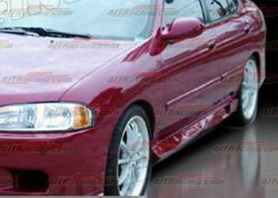 Sentra - Side Skirts - AIT Racing - Nissan Sentra AIT Racing R34 Style Side Skirts - NS00HIR34SS