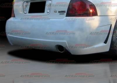 Sentra - Rear Bumper - AIT Racing - Nissan Sentra AIT Racing Zen Style Rear Bumper - NS00HIZENRB