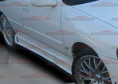 Sentra - Side Skirts - AIT Racing - Nissan Sentra AIT Racing Zen Style Side Skirts - NS00HIZENSS