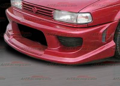Sentra - Front Bumper - AIT Racing - Nissan Sentra AIT Racing Drift Style Front Bumper - NS91HIDFSFB