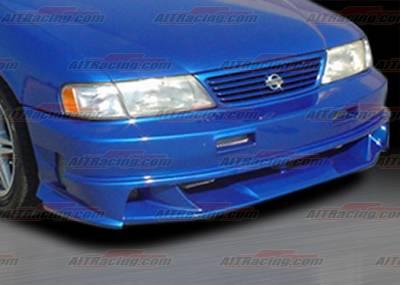 Sentra - Front Bumper - AIT Racing - Nissan Sentra AIT Racing Extreme Style Front Bumper - NS95HIEXSFB