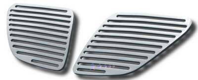 Grilles - Custom Fit Grilles - APS - Pontiac G6 APS CNC Grille - Upper - Aluminum - P95130A