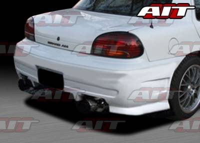 Grand Am - Rear Bumper - AIT Racing - Pontiac Grand Am AIT Combat Style Rear Bumper - PG96HICBSRB