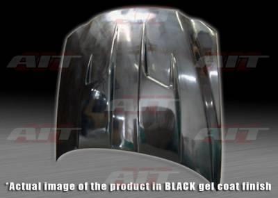 Grand Am - Hoods - AIT Racing - Pontiac Grand Am BMagic Type-3 FRP Hood - PG99BMT3FH