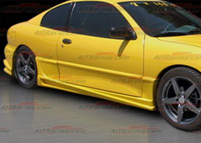 Sunfire - Side Skirts - AIT Racing - Pontiac Sunfire AIT Racing BMX Style Side Skirts - PS03HIBMXSS