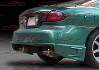 Sunfire - Rear Bumper - AIT Racing - Pontiac Sunfire AIT Racing BZ Style Rear Bumper - PS95HIBZSRB