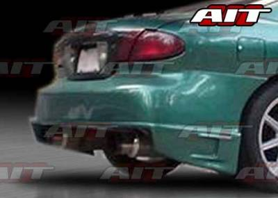 Sunfire - Rear Bumper - AIT Racing - Pontiac Sunfire AIT BZS Style Rear Bumper - PS95HIBZSRB2
