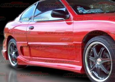 Sunfire - Side Skirts - AIT Racing - Pontiac Sunfire AIT Racing BZ Style Side Skirts - PS95HIBZSSS