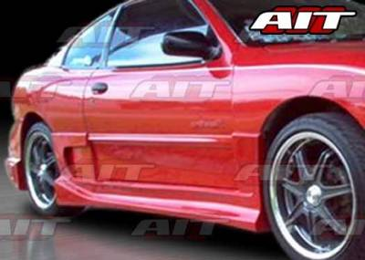 Sunfire - Side Skirts - AIT Racing - Pontiac Sunfire AIT BZ Style Side Skirts - PS95HIBZSSS2