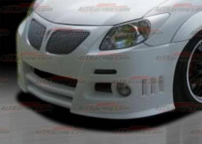 Vibe - Front Bumper - AIT Racing - Pontiac Vibe AIT Racing GRS Style Front Bumper - PV03HIGRIFB