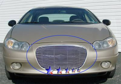 Grilles - Custom Fit Grilles - APS - Chrysler Concord APS Billet Grille - Upper - Aluminum - R65308A