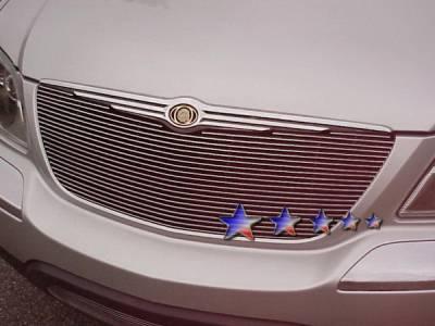 Grilles - Custom Fit Grilles - APS - Chrysler Pacifica APS Billet Grille - Upper - Aluminum - R65311A