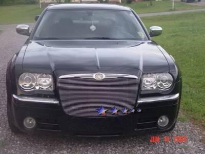 Grilles - Custom Fit Grilles - APS - Chrysler 300 APS Billet Grille - Upper - Aluminum - R85300A