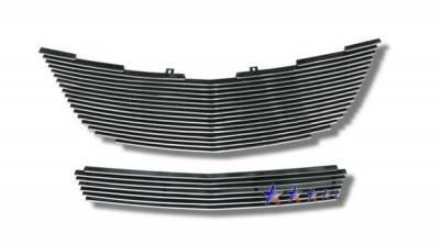 Grilles - Custom Fit Grilles - APS - Chrysler Sebring APS Billet Grille - Upper & Bumper - Aluminum - R86617A