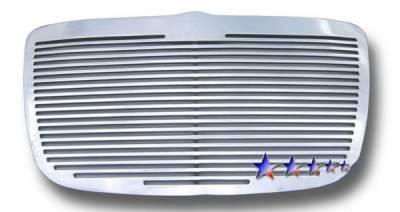 Grilles - Custom Fit Grilles - APS - Chrysler 300 APS CNC Grille - Upper - Aluminum - R95300A