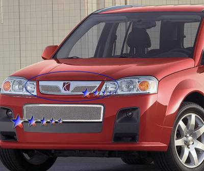 Grilles - Custom Fit Grilles - APS - Saturn Vue APS Wire Mesh Grille - Upper - Stainless Steel - S77610T