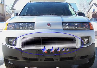 Grilles - Custom Fit Grilles - APS - Saturn Vue APS Billet Grille - Upper - Aluminum - S87601A