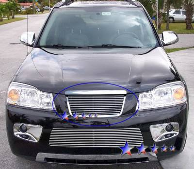 Grilles - Custom Fit Grilles - APS - Saturn Vue APS Billet Grille - Upper - Aluminum - S87612A