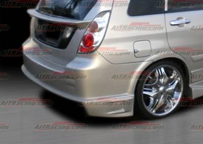 Aerio - Rear Bumper - AIT Racing - Suzuki Aerio AIT Racing Drift Style Rear Bumper - SA02HIDFSRB